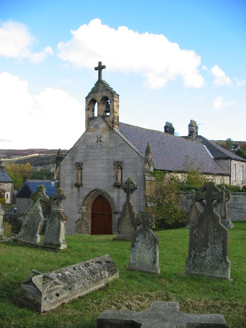 Catholic Church of All Saints, Thropton, Northumberland