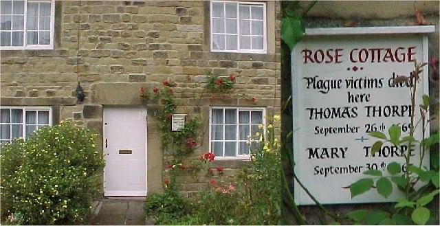 Eyam Derbyshire Plague Cottage