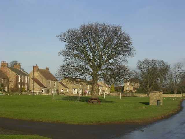 Village Green, Eppleby, near Richmond, North Yorkshire
