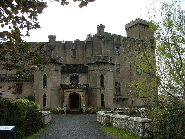 Dunvegan Castle - The front door