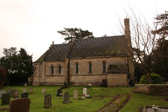 St.Edward's church, Sudbrooke, Lincs.