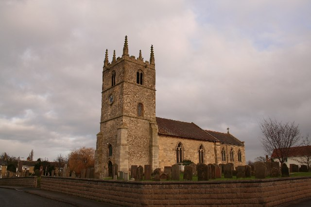 St.Germain's church, Scothern, Lincs.