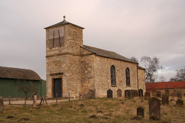St.John the Baptist's church, Stainton-by-Langworth, Lincs.