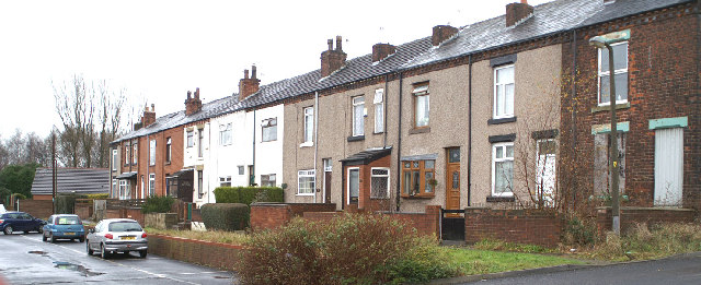 The housing in High Street, Ince