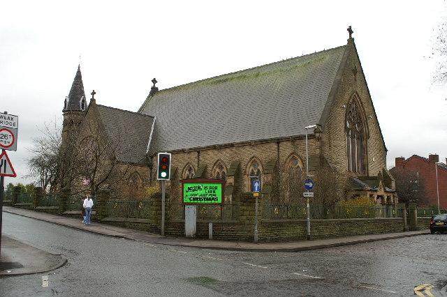 Christ Church, Higher Ince