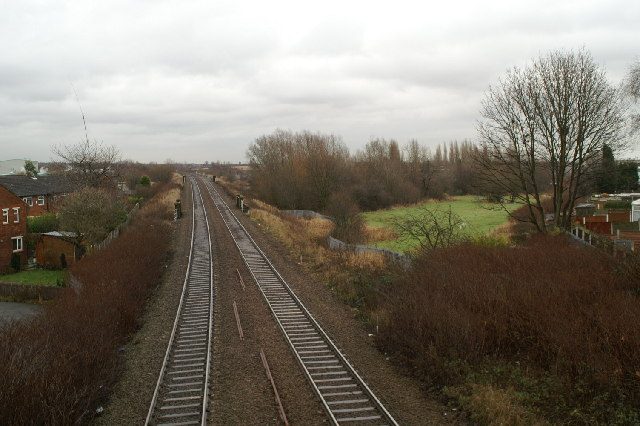 Track of canal branch