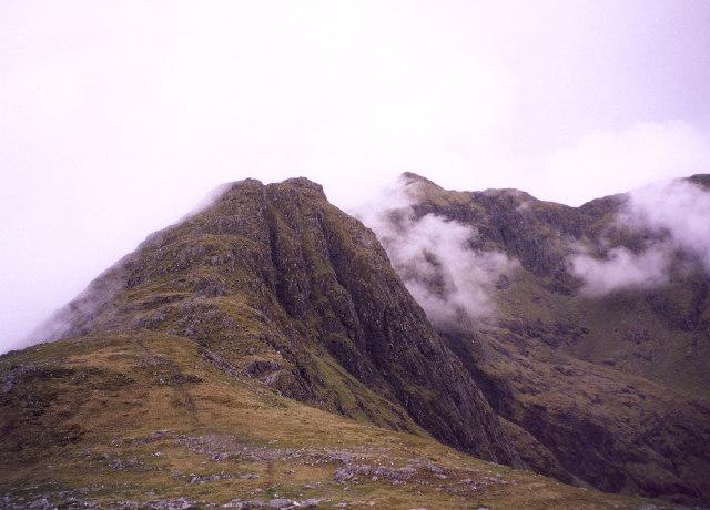 the South-East ridge of Ladhar Bheinn