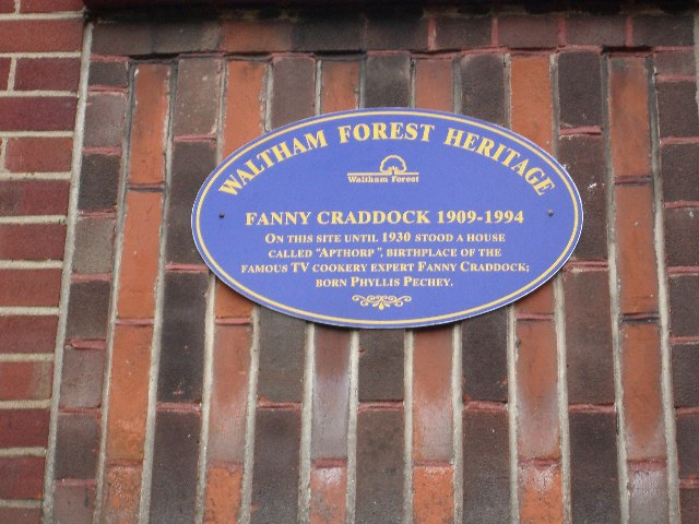 Who knows where Fanny Craddock lived ?