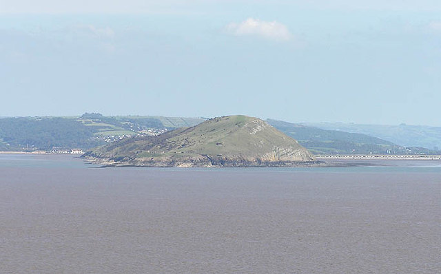 Brean Down from Steepholm