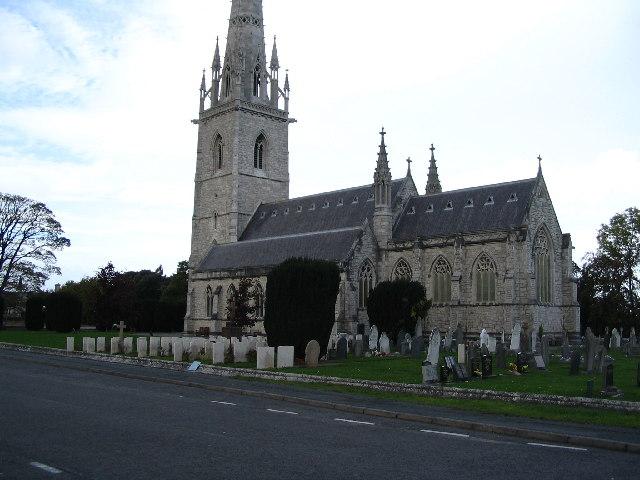 """""""Marble Church"""", Bodelwyddan, N.Wales"""