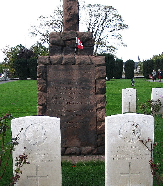 Memorial to Canadian Soldiers