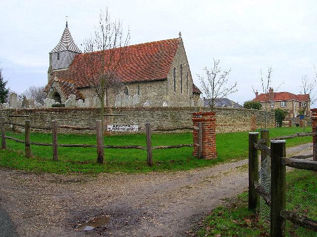 Beware Ferocious Geese, Itchenor Church