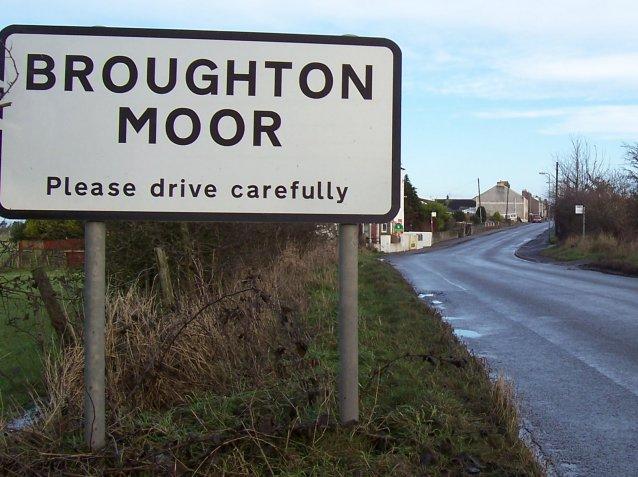 Entrance to Broughton Moor.