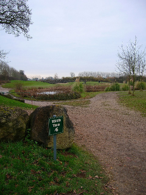 15th tee, Chichester Golf Course