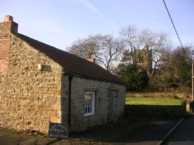 East Layton Quoits and Social Club, near Richmond, North Yorkshire