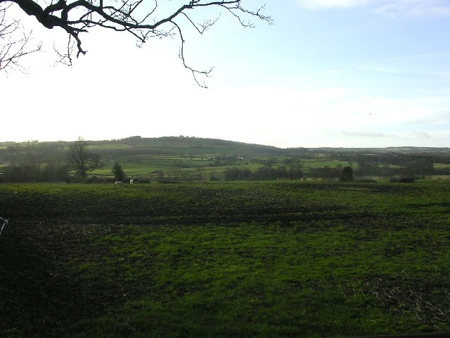 View from the Hartforth to Gilling West road, near Richmond, North Yorkshire