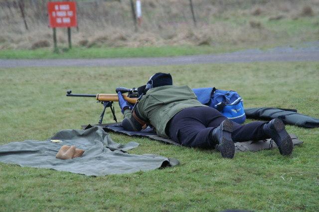 Rifle Man At Yoxter Range