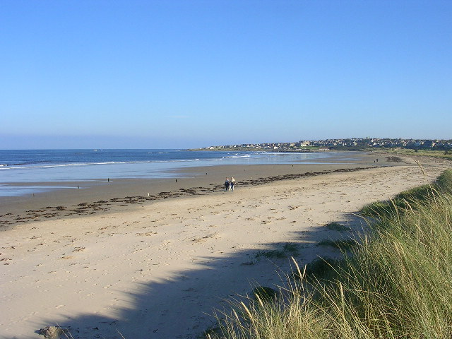 West Beach at Lossiemouth