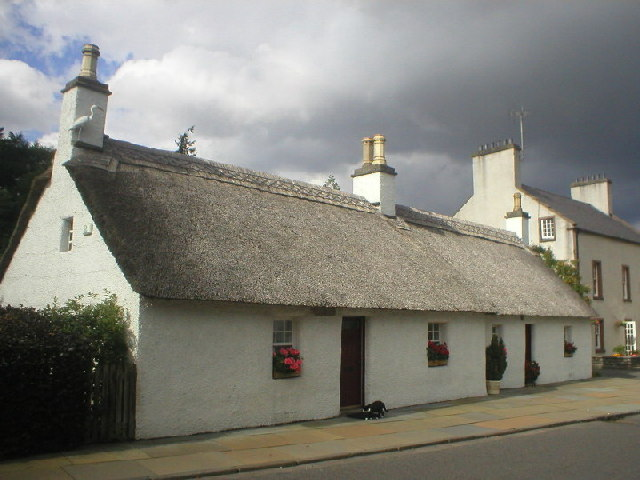Thatched Cottages at Glamis