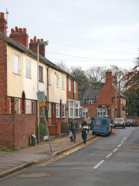 Newmarket Street, Knighton, Leicester