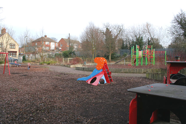 Playground on Gwendolen Road, Leicester