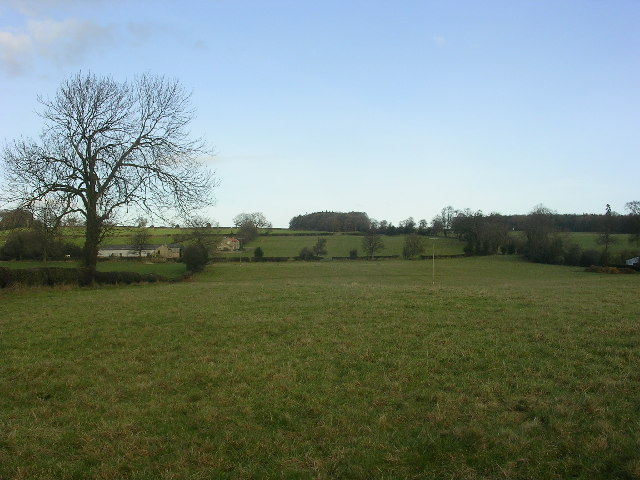 View from Gilling West to Skeeby road, near Richmond, North Yorkshire