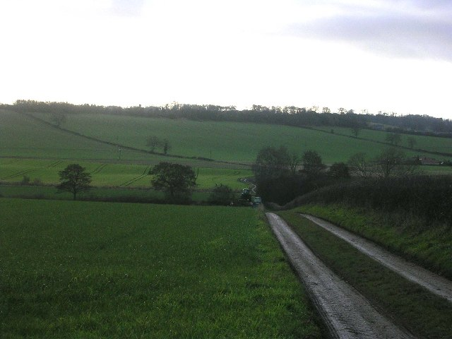 Farm track, near Skeeby, Richmond, North Yorkshire