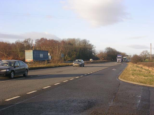 A1 south of Scotch Corner