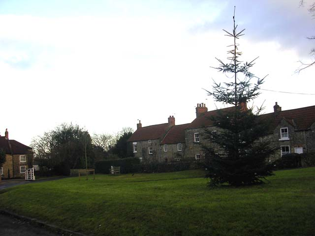 Village Green in Middleton Tyas, near Richmond, North Yorkshire