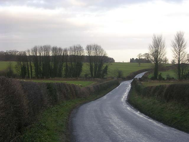 Road from Middleton Tyas to Croft-on-Tees