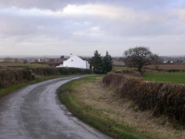 The back road from Middleton Tyas to Barton, North Yorkshire