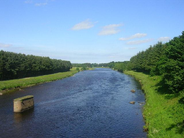 River Dee From Durris Bridge