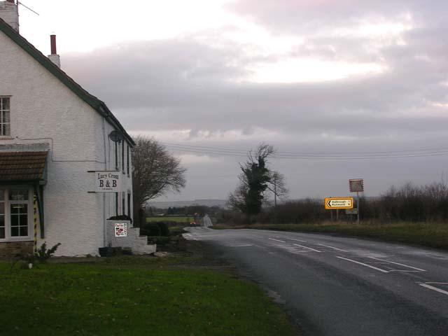 Lucy Cross on B6275 south of Piercebridge