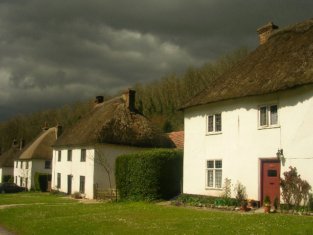 Thatched Cottages at Milton Abbas