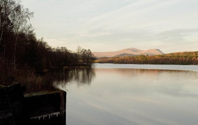 Earlstoun Loch Reservoir