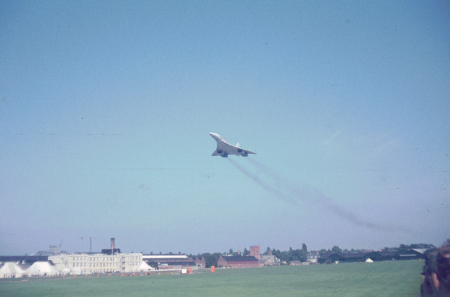 First Concorde at Farnborough