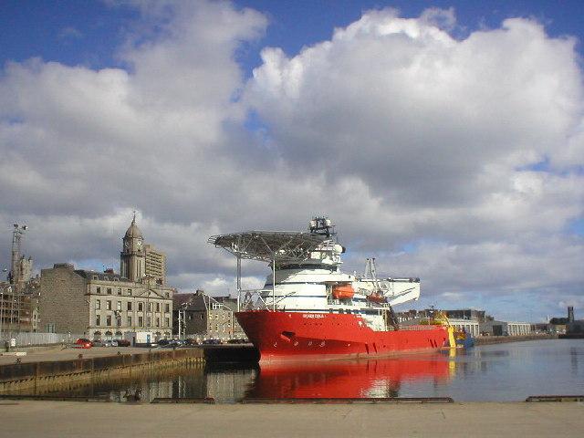 Upper Dock at Aberdeen Harbour
