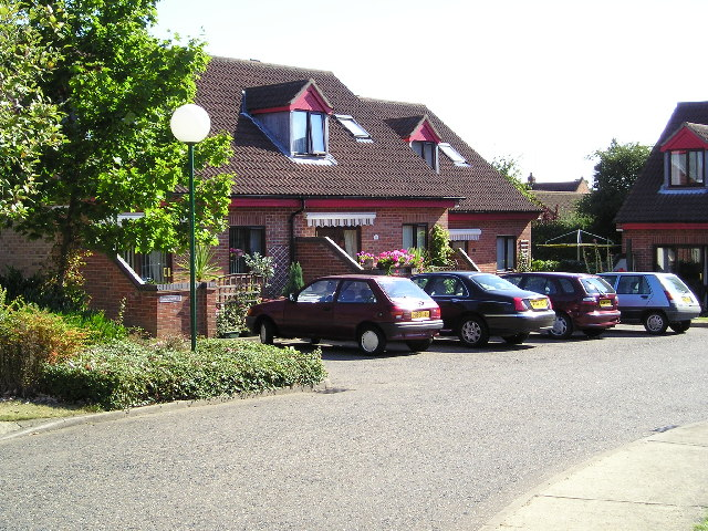 Sheltered housing in North Walsham
