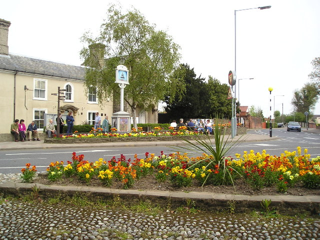 The centre of North Walsham