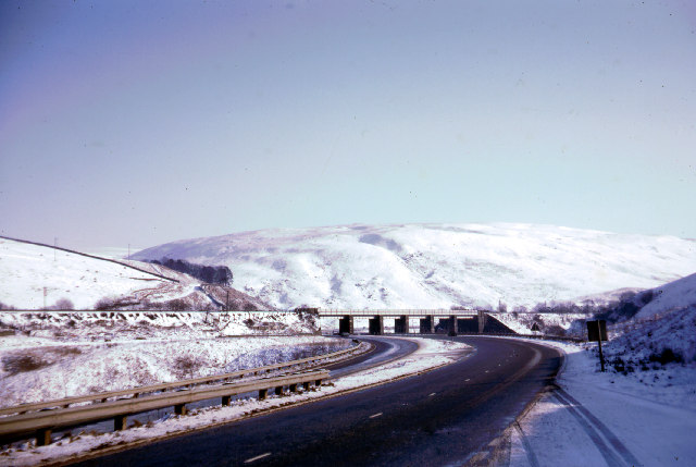 A74 North of Moffat