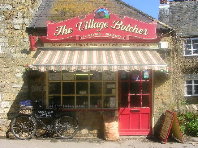 Traditional Butcher Shop in Abbotsbury