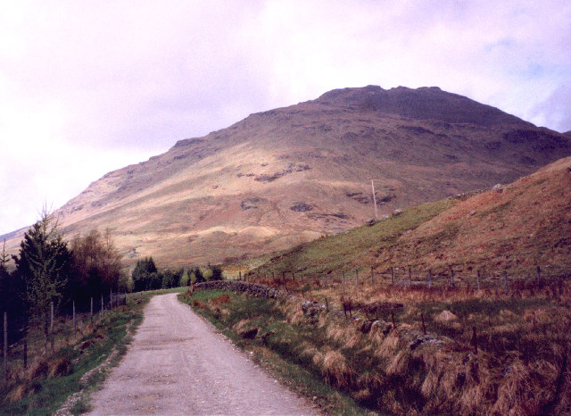 the track to Inverlochlarig