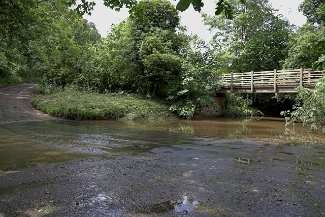 The Ford crossing Hodge Beck