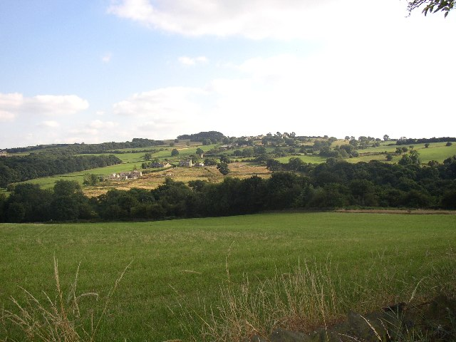 View towards the Cat Hill area of Hoyland Swaine