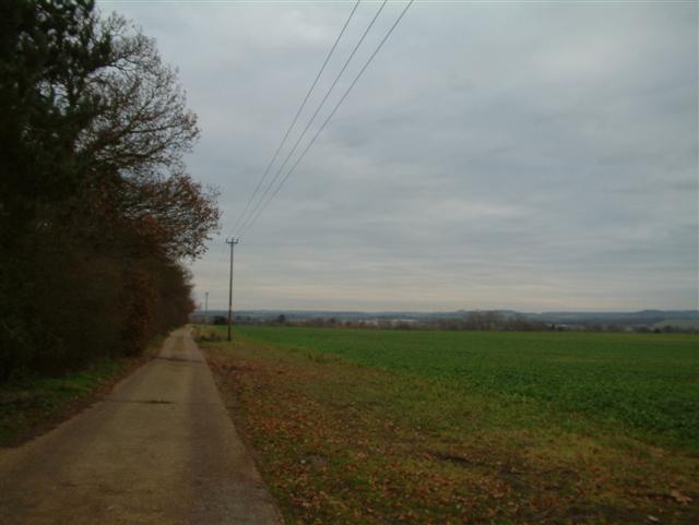 The Track to Copse Cottages