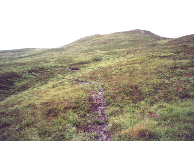 the path to Meall Buidhe