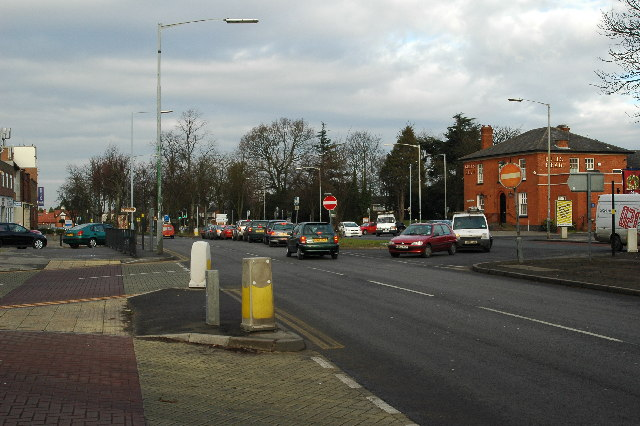 Junction of Stratford Road & Highfield Road, Hall Green
