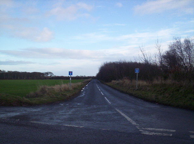 Road to Auchmithie