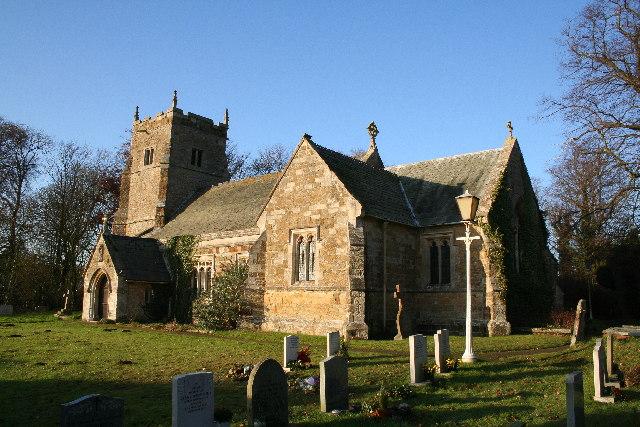 St.Mary's church, East Barkwith, Lincs.