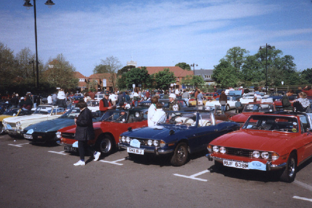 Triumph Rally at Ringwood